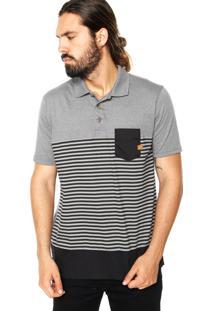 Camisa Polo Oakley Huntington Cinza