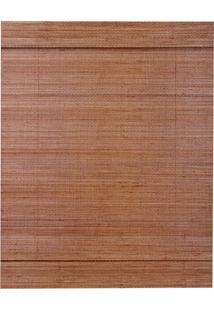Persiana Romana Bambu 120X160 - Evolux - Walnut