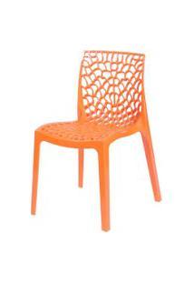 Cadeira Gruvyer Laranja Or Design