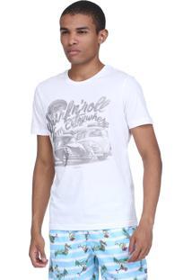 Camiseta King&Joe Fusca Off White