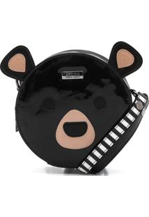 Bolsa Santa Lolla Urso Preta
