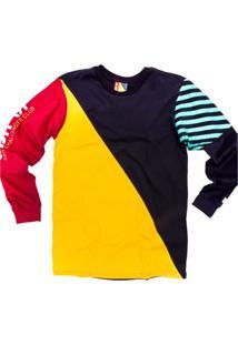 Camiseta Manga Longa Starter Collab Sbr Color