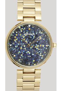 Relógio Analógico Mondaine Feminino - 99365Lpmvde1 Dourado - Único