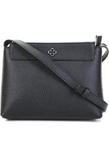 Bolsa Capodarte Shoulder Bag Monocolore Feminina - Feminino-Preto