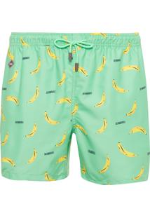 Bermuda Masculina Go Bananas - Verde