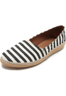Alpargata Dafiti Shoes Tressê Preta