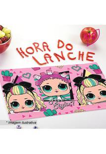 Jogo De Toalhas De Lancheira Lolâ® Surprise- Rosa & Pretolepper