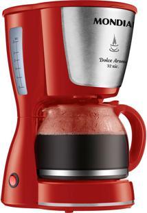 Cafeteira Elétrica Mondial Dolce Arome 32X C-32 Vermelha - 127V