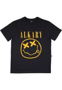 Camiseta Alkary Nirvana Preta