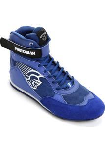 Tênis Pretorian Knockout - Masculino-Azul+Branco