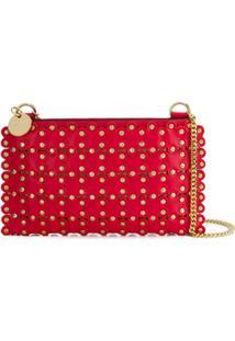 Red Valentino Red(V) Flower Puzzle Cross Body Bag - Vermelho