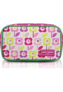 Nécessaire Flor Pink - Jacki Design
