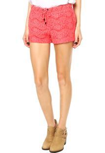 Short Calvin Klein Jeans Coral