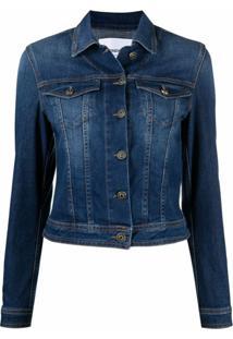 Dondup Jaqueta Jeans Clássica - Azul