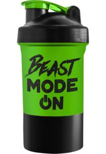 Coqueteleira 2 Doses Beast Mode On - Powerfoods