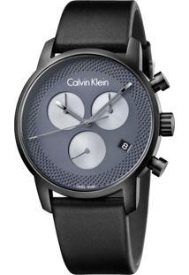 49c507a45af0d Dafiti. Relógio Masculino De Grife Calvin Klein Cinza K2g177c3