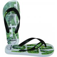 2c8663ef5b Chinelo Mr.Silver Relax And Enjoy - Masculino-Verde+Preto