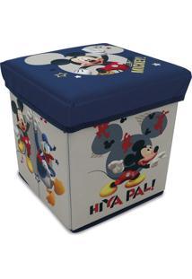 Banquinho Porta Objeto Mickey E Minnie - Zippy Toys