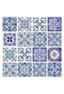 Adesivo De Azulejo Para Cozinha Royal 15X15Cm - 36Un