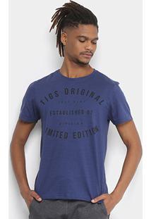 Camiseta Tigs Original Flamê Masculina - Masculino