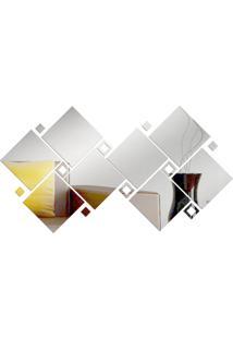Espelho Love Decor Decorativo Perspectiva Único - Kanui