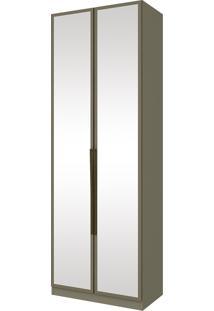 Guarda Roupa Modulado Henn Exclusive Com Espelho 2 Portas 3 Gavetas