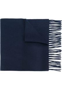 Fendi Cachecol 'Bag Bugs' - Azul