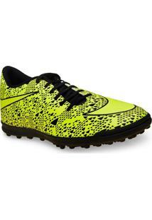 Tenis Masc Nike 768917-770 Bravata Tf Limao/Preto