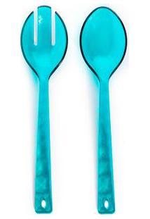 Talher De Servir Caribe Cor: Azul Turquesa - Tamanho: Único