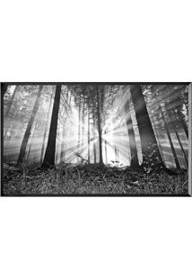 Quadro Decorativo Floresta- Preto & Branco- 60X80Cm