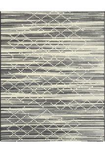 Tapete Classe A Abstrato- Preto & Off White- 120X66Ctapete Sã£O Carlos