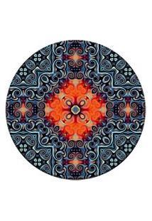 Tapete Love Decor Redondo Wevans Oriental Multicolorido 94Cm