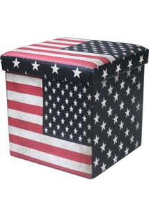 Puff Dobravel Cor Usa Flag - 27839 - Sun House