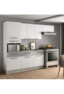 Cozinha Compacta Exclusive Ii 8 Pt 3 Gv Branca