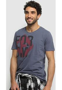 Camiseta Forum Pixo Logo Masculina - Masculino