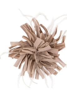 Peserico Broche Floral Grande - Neutro