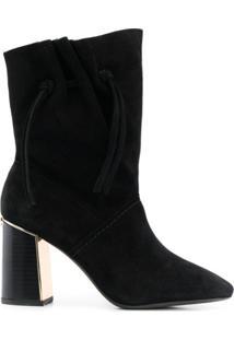 Tory Burch Gigi Ankle Boots - Preto