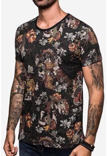 Camiseta Hermoso Compadre Chinese - Masculino-Preto