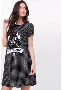 Camisola Com Estampa Darth Vader