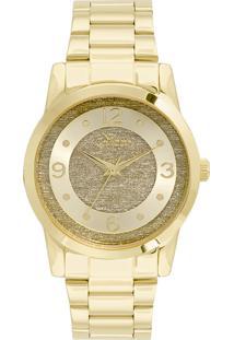 Okulos. Relógio Feminino Condor Analógico Co2039an 4d Ouro 65eacfed9d