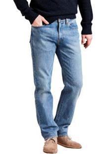 Calça Jeans Levis 514 Straight 4 Way Stretch Masculina - Masculino-Azul