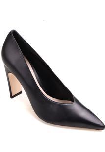 Sapato Scarpin Schutz Salto Retangular