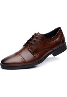 Derby Jacometti Cap Toe Casual Café 5614