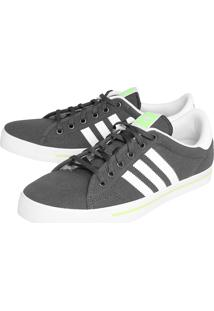 Tênis Adidas Originals Adicourt Stripes Cinza