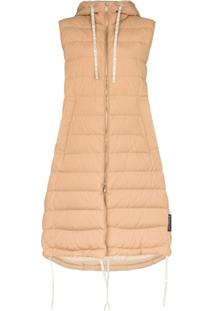 Moncler Belmon Sleeveless Quilted Gilet - Neutro