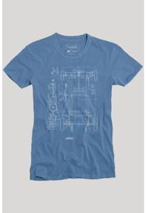 Camiseta Reserva Chassi Masculina - Masculino