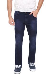 Calça Jeans Fiveblu Reta Pespontos Azul