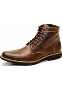 Bota The Box Project Road Madeira Masculina - Masculino-Marrom