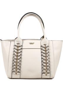 Bolsa Vogue Feminina - Feminino-Off White
