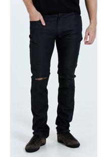 Calça Masculina Jeans Slim Rasgos Marisa